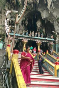 Venture Up Does Team Building at Malaysian Temple