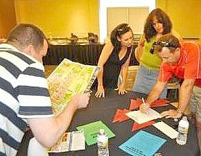 Table Top Team Building Exercises - Venture Up