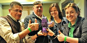 Venture Up 3D printed prosthesis CSR Team Building