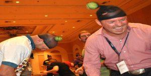 Venture Up Team Survivors Minutes to Win it Competitive Team Building