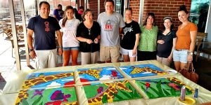 Venture Up ArtRageous Murals CSR for Donation