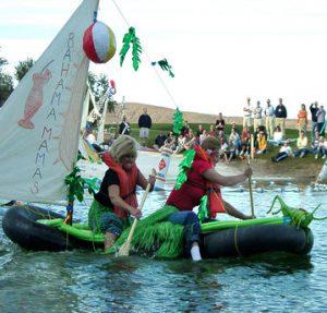 Venture Up Mega boats create a craft