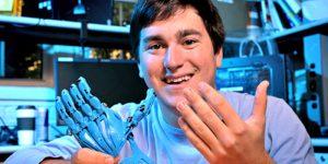 Venture Up Jeff Powell 3D Printed Hands