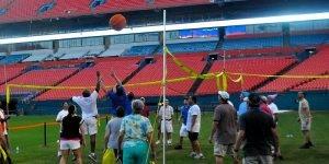 Venture Up Indoor outdoor 4 Way Volleyball