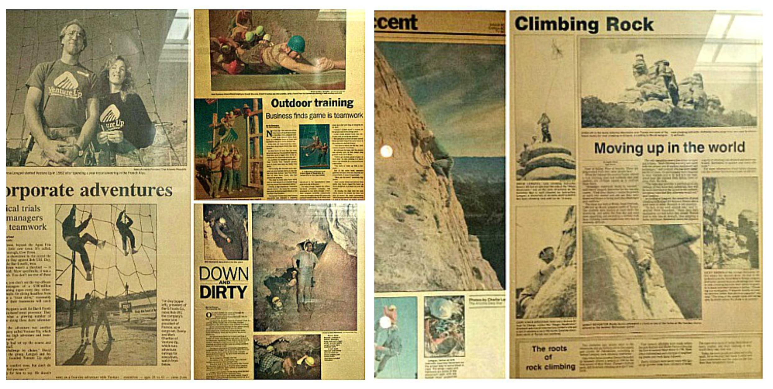 Venture Up Vintage articles