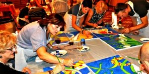 Venture Up CSR ArtRageous Murals for charity and donation