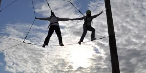 Venture Up Ropes course