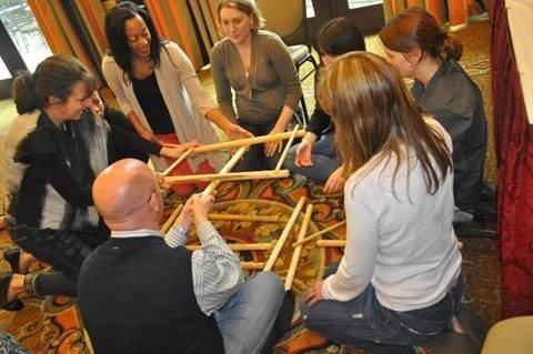 Venture Up Bridge Building Team Building